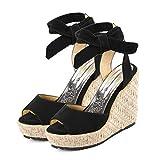 Sandalias De Mujer Verano 2019 Sandalias Con Plataforma Para Mujer Zapatos De Cuña Comodos Cuñas Sandalias Zapatos Romanos De Punta Abierta Casual Fiesta Roman Tacones Altos Sandalias