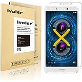 Huawei Honor 6X Protector de Pantalla, iVoler® Protector de Pantalla de Vidrio Templado Cristal Protector para Huawei Honor 6X -Dureza de Grado 9H, Espesor 0,20 mm, 2.5D Round Edge-[Ultra-trasparente] [Anti-golpe] [Ajuste Perfecto] [No hay Burbujas]- Garantía Incondicional de 18 Meses