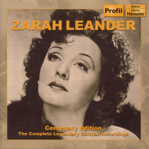 Leander, Zarah: Centenary Edit...