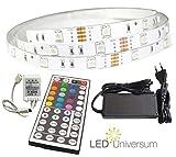 Deco Flex RGB Set / selbstklebend, dimmbar für farbige und weiße Ambientbeleuchtung