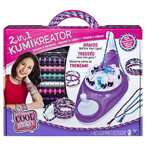 51rWqVBu2%2BL - Cool Maker 6053898 - 2-in-1 Kumi Kreator Studio