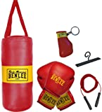 BENLEE Rocky Marciano Kinder Boxing Bag Set Punchy, Schwarz, One size, 199077