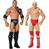 WWE: Wrestle Mania - Ric Flair y La Roca Figura De Acción Pack de 2