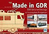 Made in GDR: DDR-Schienenfahrzeuge in historischen Prospekten