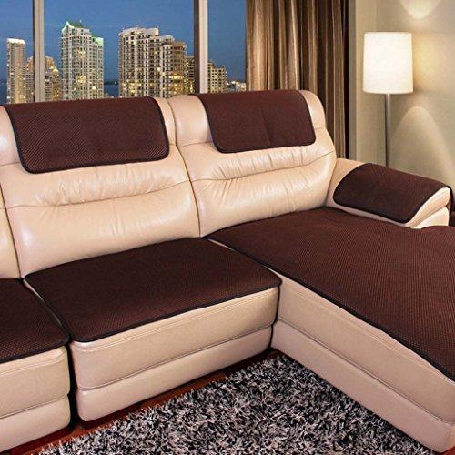 MEHE@ Romantik stilvoll Persönlichkeit kreativ Leder Sofa Kissen Anti-Rutsch Vier Jahreszeiten Gemeinsame Kissen Europäische Luxus-Stoff Einfache Modern Sofa-Überwürfe ( größe : 60*180cm )