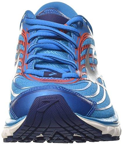 Brooks Glycerin 15, Zapatillas De Deporte Azul Para Hombre (azul De Metilo / Azul Medievales / Tomate De Cereza)