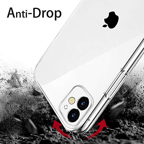 laxikoo Custodia iPhone 11 Cover iPhone 11 Trasparente TPU