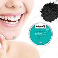 Poudre de charbon dent blanche - Infinitive ® Blanchiment des dents naturel avec le dentifrice à base de charbon vegetal. Utilisez notre dentifrice bio charbon actif pour un blanchiment dentaire naturel