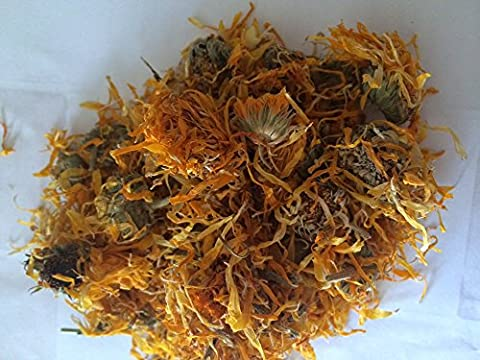 Marigold Calendula dried flowers 100g From The Spiceworks - Hereford