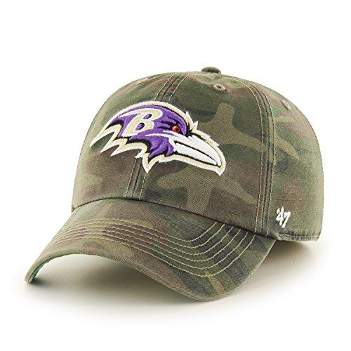 NFL Harlan '47 Franchise Fitted Hat, Sandalwood, Medium -