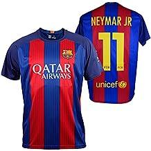 CAMISETA 1ª EQUIPACION REPLICA OFICIAL FC BARCELONA 2016-2017 NEYMAR NIÑO (14)