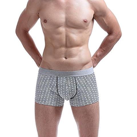 Men Sexy Briefs Sous-vêtements Soft Cotton Boxers Pouch Shorts Underpants