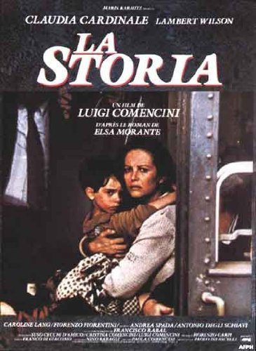Die Storia–1985–Claudia Cardinale (Kalabrien)–40x 60cm zeigt/Poster (Claudia Cardinale Poster)