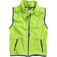 760d86a5ab Playshoes Unisex Fleece-Weste Farbig Abgesetzt. Weitere Auswahl: Größe &  Farbe