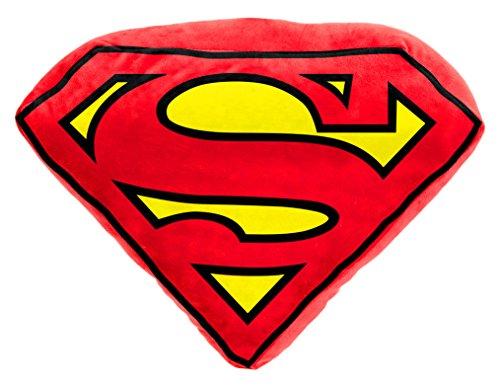 Joy Toy 301001, Cuscino a forma di logo Superman, 52 cm