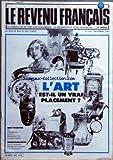 Telecharger Livres REVENU FRANCAIS LE No 142 du 01 12 1981 L ART EST IL UN VRAI PLACEMENT OR OBLIGATIONS S C P I ASSURANCE VIE A PRIME UNIQUE IMMOBILIER NEIGE (PDF,EPUB,MOBI) gratuits en Francaise