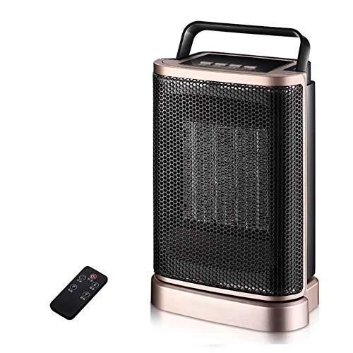 ORDK-Ortable-Espacio-Calefactor-Escritorio-Elctrico-Ventilador-PTC-Cermica-Calefactor-con-Oscilacin-Funcin-para-Bao-Y-Oficinas-Dorado