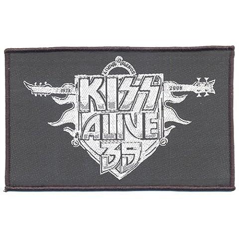 Kiss Alive 35 - Kiss Aufnäher-Patch Alive 35
