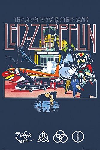 Zeppelin Wandtattoo Led (GB Eye 61x 91,5cm