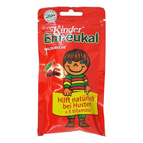 Kinder Em-eukal Wildkirsche Bonbons, 75 g Bonbons