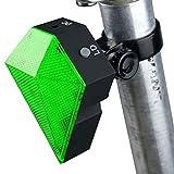 Mercery USB Aufladbare Wasserdichte Fahrrad-Rücklicht-Super Helle LED-Fahrrad-Rücklicht klippt Leicht auf Rotem Rücklicht Leistungsfähiges optimales Radfahrensicherheits-Gebirgsfahrrad