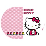 Tischdecke 25x35 cm Hello Kitty Tulip