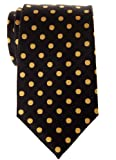Retreez Prämie Gewebte Krawatte Klassische Punktmuster 8 cm - in verschiedenen Farben