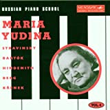 Russian Piano School Vol. 4 / Maria Yudina, pianiste | Yudina, Maria Veniaminovna (1899-1970) - pianiste russe. Interprète