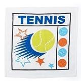 Subito disponibile Asciugamano salvietta 30 x 30 cm tema basket calcio tennis o GOLF