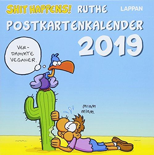 Shit Happens Postkartenkalender 2019 por Ralph Ruthe
