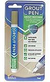 Grout Pen - Designed for restoring tile grout in bathrooms & kitchens (Beige)