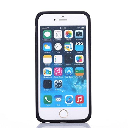 """iProtect Schutzhülle Apple iPhone 6 (4,7"""") Slim Case mit Extra Fach zum aufschieben Slide Hardcase in rosa SlideCaseRosa"""