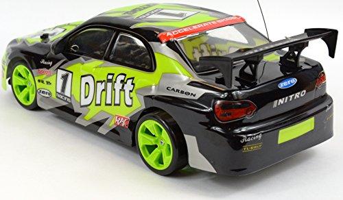 RC Auto kaufen Drift Car Bild 2: NewRay 88253 SS Auto Running, Set Drift Echelle 1 14 Schwarz*