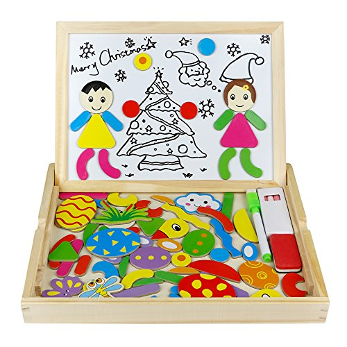Wooden jigsaw box