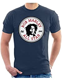 Cloud City 7 Converse Bob Marley All Star MenS T-Shirt