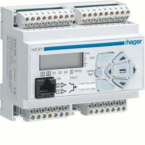 HAGER HIB/HIC400 - RELE TRANSFERENCIA AUTOMATICO PARA CONMUTADOR HIB