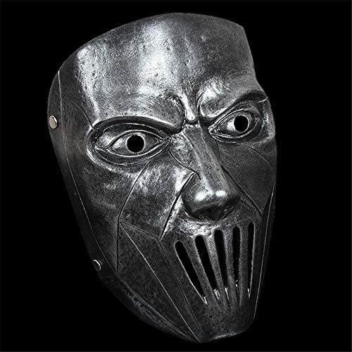 NUOKAI Slipknot Serie Maske Film Thema Maske Live-Knoten Clown, Silber