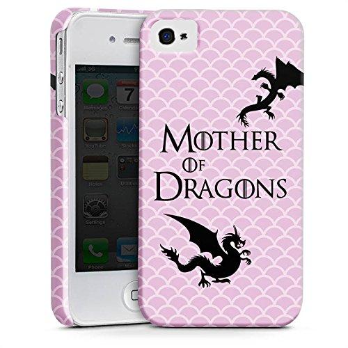 Apple iPhone 7 Hülle Case Handyhülle Drachen Game of Thrones GOT Premium Case glänzend