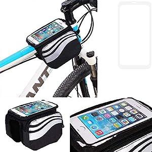 51rX7 iIFAL. SS300 Compatibile Con -Samsung Galaxy A10- Borse Telaio Bicicletta Borsa Bici Supporto Tubo Borsetta Fissare Al Telaio…