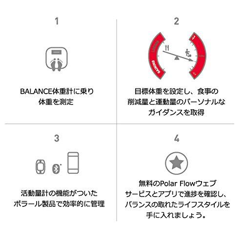 Zoom IMG-1 polar bilancia pesapersone bluetooth smart