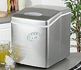 Eiswürfelmaschine – Eismaschine – Eismaschine für die Arbeitsplatte – Neues kompaktes Modell – Kein Wasseranschluss erforderlich – 15kg Eis in 24 Stunden - 2