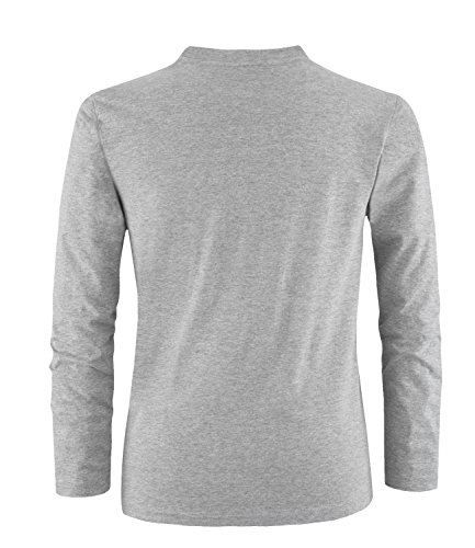 EZYshirt® Paintball Evolution Herren Longsleeve Grau/Weiss/Neongr