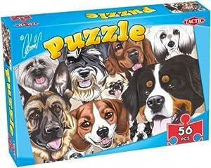 Caricature 56 piece Puzzle Collection - Puzzle de 56 piezas (Tactic 40831)