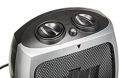 Keramik Heizlüfter 3 Stufen (kalt,warm,heiß) 750/1500 Watt Thermostat oszillierend von Adler auf Heizstrahler Onlineshop