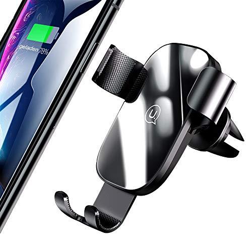 LUXSURE Handyhalterung Auto Vollautomatische Schwerkraft Handyhalter Auto Lüftung KFZ Handy Halterung für iPhone 11/11 Pro/11 Pro Max/X/XS/XS Max/XR/8 Samsung S10 S9 S8,Huawei,andere Smartphone