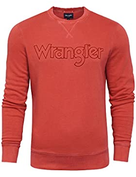 Wrangler Authentic Crew Sweat, Felpa Uomo