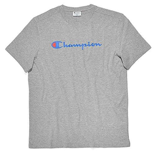 champion-t-shirt-a-col-ras-du-cou-pour-homme-xl-gris-oxford-grey-a