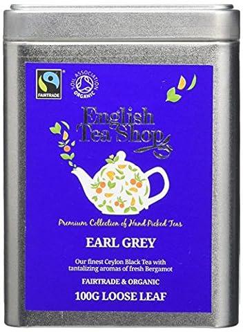 English Tea Shop Earl Grey Fairtrade and Organic Loose Tea