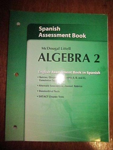 McDougal Littell Algebra 2 Assessment Book
