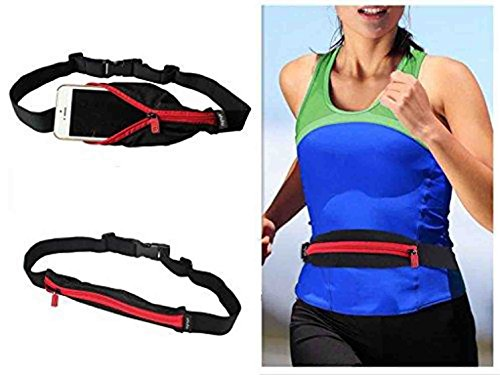 GKP Products Universal Sports Running Waist Pocket Belt Case for All Mobiles Model 410036